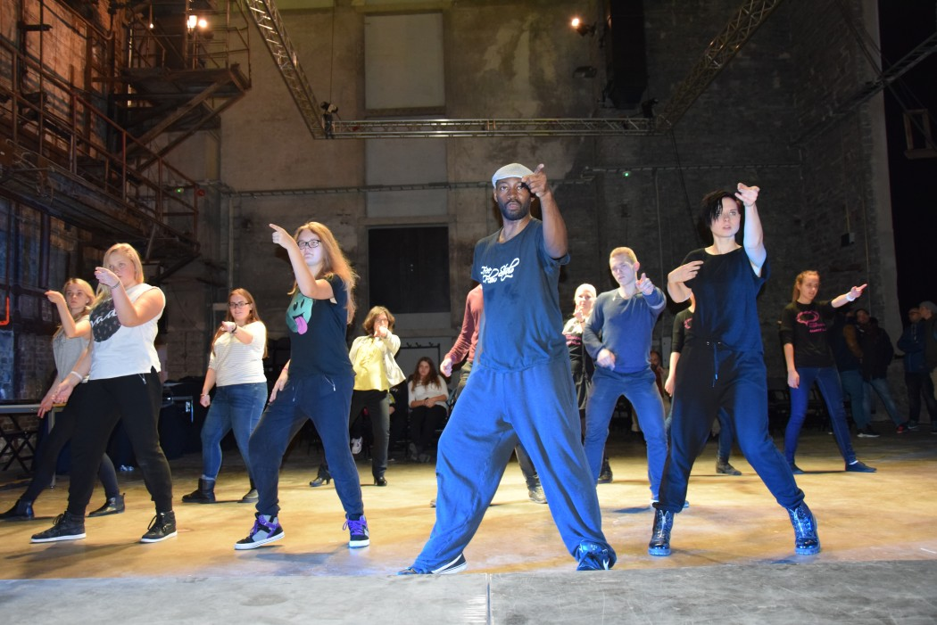 Michael Jacksoni style töötuba (Free Flow Studio). Foto: Tallinna spordi- ja noorsooameti erakogu