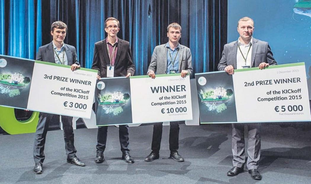 Konkursi «Kickoff» 2015 võitjad