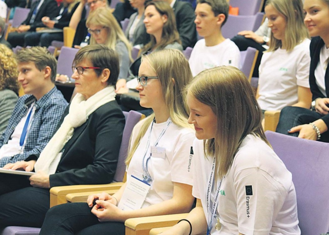 Noored UBC üldkonverentsil «Building Smart Cities in the Baltic Sea Region» Foto: Lukasz Kosowski