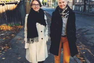 Pildil: vasakult Birgit Podelsky ja Marili Otstak. Foto Margit Sellik