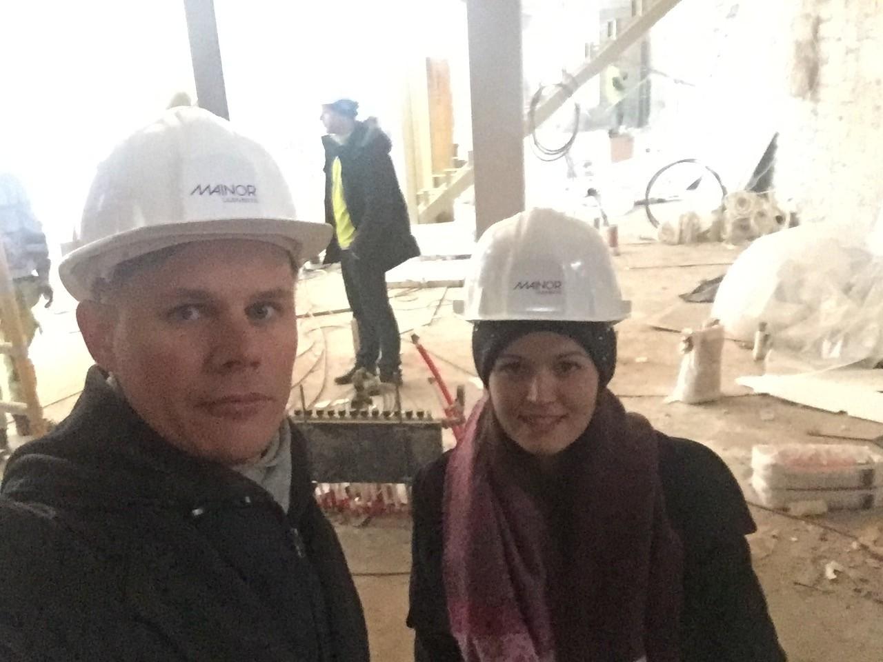 Fotol Ruutu Kuus ettevõtte juht Margus Tammemäe ja töövari Skriptisõna.