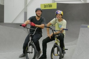 BMX-freestyle'i tipp Daniel Dhers: hirmu ületamine hoiab noorena