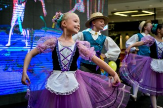 Pildil balletistuudio Noor Ballett Fouetté noored. Foto autor Harry Tiits.