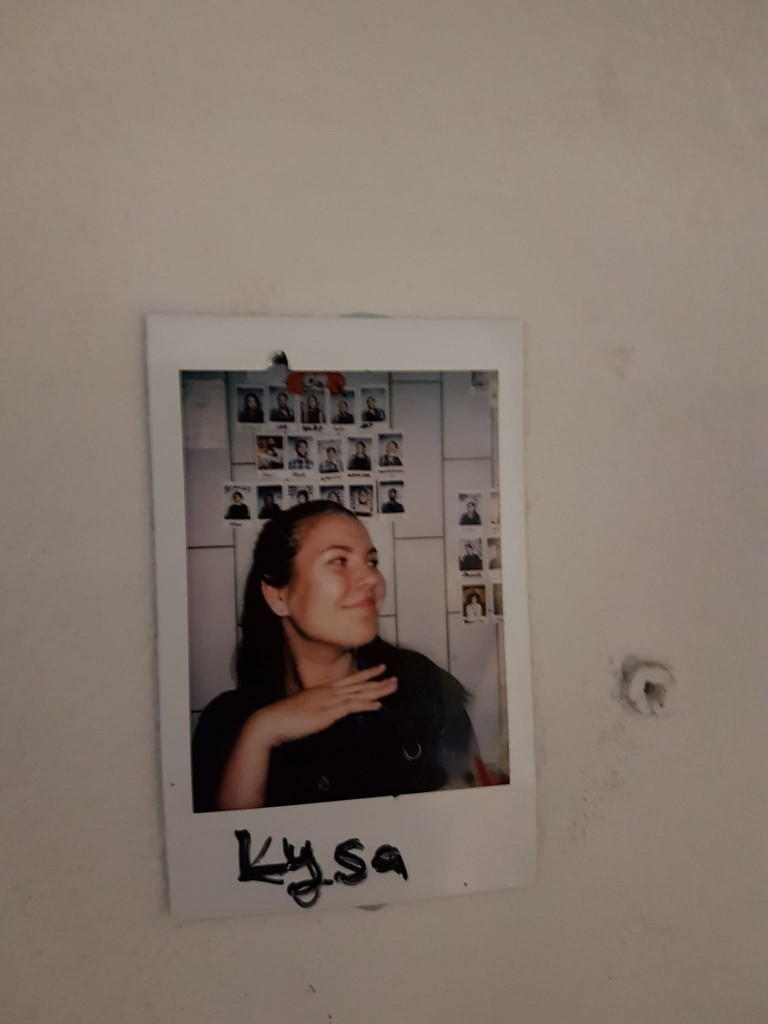 Pilt Hanna-Lysast töötajate stendil