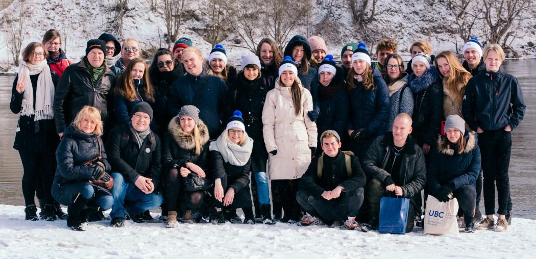 Pildil UBC noortekomisjoni liikmed. Foto: Narva noortekeskus