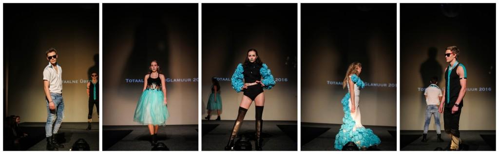 Minu esimene disainitud kollektsioon - Modellid Georg Raudla, Seliine Sommer, Anna-Liina Amer, Carmen Tiinas ja Erik Proos