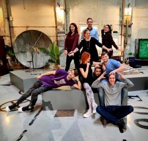 Põhja-Tallinna noortekeskuse noorsootöötajad, foto: erakogu