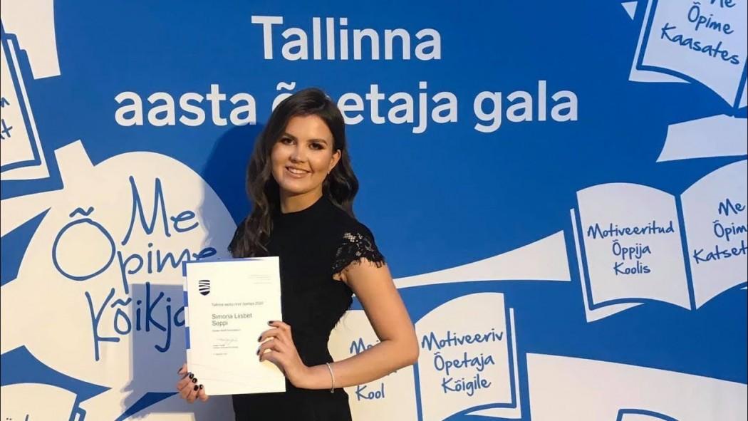 Algklassiõpetaja kui eeskuju ja suunanäitaja |Tallinna aasta noor õpetaja 2020 Simona Seppi