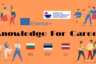 Knowledge for career plakat
