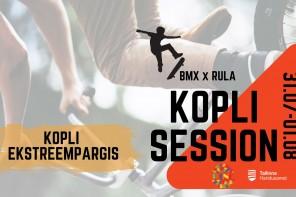 """Edasi lükatud 04.-05.09! Trikirattavõistlus """"Kopli Session"""" Kopli ekstreempargis 31.07 ja 01.08"""